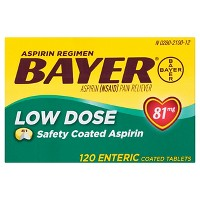 Bayer Aspirin Regimen Pain Reliever Coated Tablets - Aspirin (NSAID)