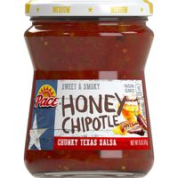Pace® Pace Salsa, Honey Chipotle Salsa, Medium Salsa, Perfect for Taco Night