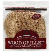 The Pizza Gourmet Pizza Crust, All Natural Wheat, Wood Grilled