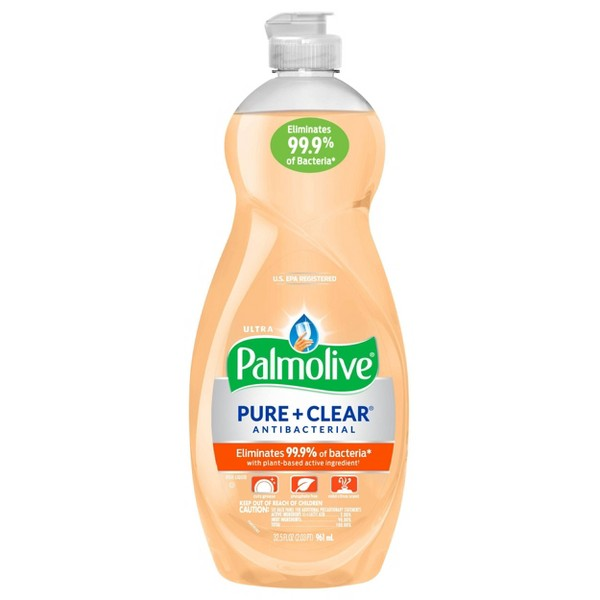 Palmolive Ultra Pure + Clear Antibacterial Dish Soap - 32.5oz