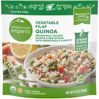 Simple Truth Organic Vegetable Pilaf Quinoa Brown Rice, Golden Quinoa & Red Quinoa With Green Peas & Carrots