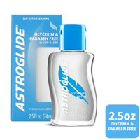 Astroglide Glycerin & Paraben Free Personal Lubricant - 2.5oz