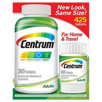 Centrum Adults Multivitamin Tablets, 425 ct