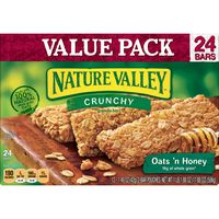 Nature Valley Granola Bars  Crunchy, Oats 'n Honey