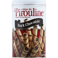 Pirouline Wafers, Creme Filled, Dark Chocolate