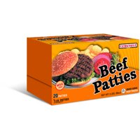Extra Value Beef Patties, 20 ct, 5 lb