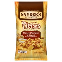Snyder's Pretzel Pieces, Honey Mustard & Onion, 12 Ounce Bag