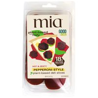 Mia Hot & Zesty Pepperoni Style Plant-based Deli Slices