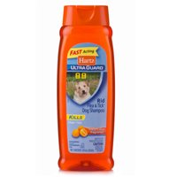 Hartz UltraGuard Citrus Flea & Tick Dog Shampoo, 18 Fl Oz