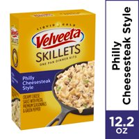 Velveeta Skillets Philly Cheesesteak Style Dinner Kit, 12.2 oz Box
