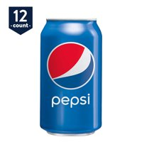 Pepsi Soda, 12 oz Cans, 12 Count