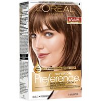 L'Oreal Paris Superior Preference Fade-Defying Color + Shine System 6AM Light Amber Brown