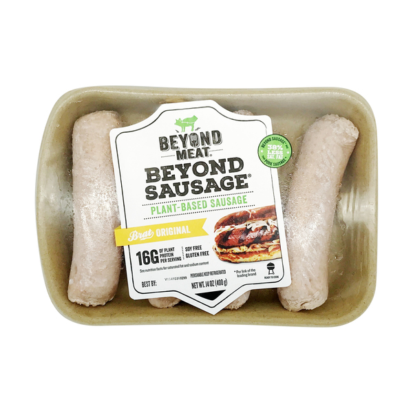 Beyond meat Plant Based Original Bratwurst, 14 oz