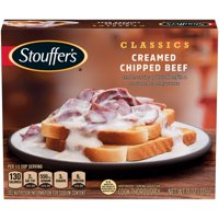 STOUFFER'S Creamed Chipped Beef, Frozen Meal