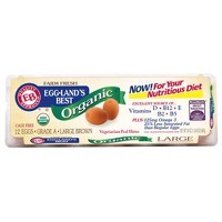 Eggland's Best Organic Grade A Large Brown Eggs - 12ct