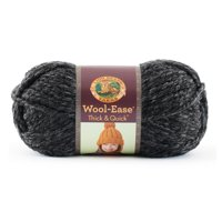 Lion Brand Yarns Wool Ease Thick & Quick Charcoal Classic Yarn, 1 Each