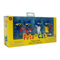 Pete the Cat Collectible Figure 4-Pack