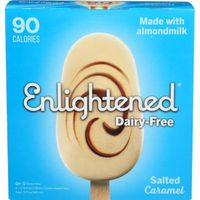 Enlightened Dessert Bars, Dairy-Free, Salted Caramel, Frozen