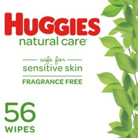 Huggies Natural Care Baby Wipes, Unscented (56 count)