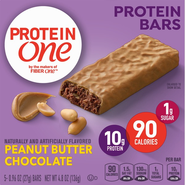 Protein One Protein Bars, Peanut Butter Chocolate