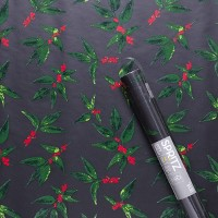 Winter Berry Printed Wrapping Paper - Spritz™