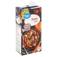 Great Value Beef Broth, 32 oz