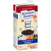 Kitchen Basics® All Natural Unsalted Beef Stock