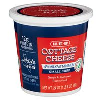 H-E-B Small Curd Cottage Cheese