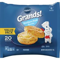Pillsbury Frozen Dough, Biscuits, Southern Style, Value Pack