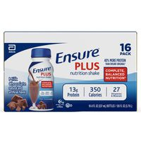 Ensure Plus Nutrition Shake Milk Chocolate Ready-to-Drink Bottles