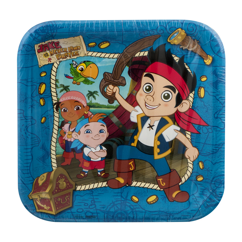 DesignWare Plates Jake and Never Land Pirates 9