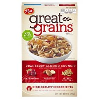 Great Grains Cranberry Almond Crunch Breakfast Cereal - 14oz - Post