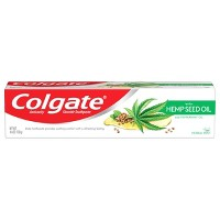 Colgate with Natural Hemp Seed Oil Toothpaste with Fluoride - Herbal Mint - 4.6oz