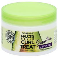 Fructis® Style Curl Treat Smoothie Defining Leave-in Styler for Soft Curls