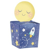 8ct To the Moon and Back Favor Boxes