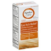 Signature Care Allergy Eye Itch Relief Eye Drops