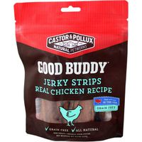 Good Buddy Dog Treats, Jerky Strips, Real Chicken Recipe