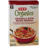 HEB Organic Granola With Mixed Berries