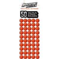 Adventure Force Tactical Strike 50 Round Refill with Ammo Storage Pouch - Rounds compatible with NERF RIVAL blasters