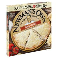 Newman's Own Thin and Crispy Pizza Four Cheese