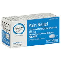Signature Care All Day Pain Relief 220 Mg Naproxen Sodium Caplets
