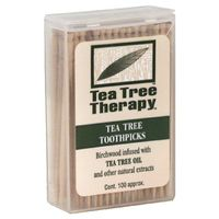 Tea Tree Therapy Toothpicks, Mint