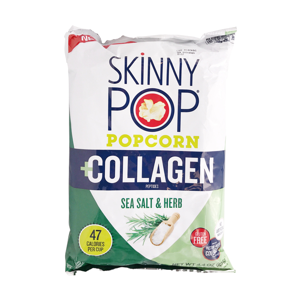 Skinnypop popcorn Collagen Popcorn, 4.4 oz