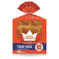 King's Hawaiian Sweet Rolls, 32 ct