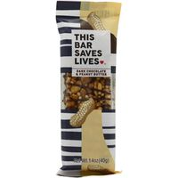 This Saves Lives Bar, Dark Chocolate & Peanut Butter