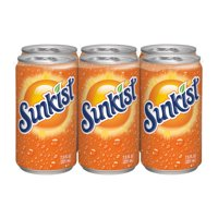 Sunkist Orange Soda, 7.5 Fl. Oz., 6 Count