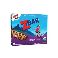 CLIF Kid ZBAR Organic Chocolate Chip Snack Bars - 6ct