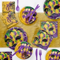 Masks Of Mardi Gras Party Collection