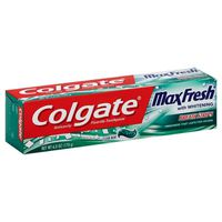 Colgate MaxFresh Whitening With Breath Strips Toothpaste Clean Mint