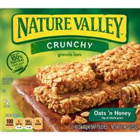Nature Valley Oats 'N Honey Crunchy Granola Bar